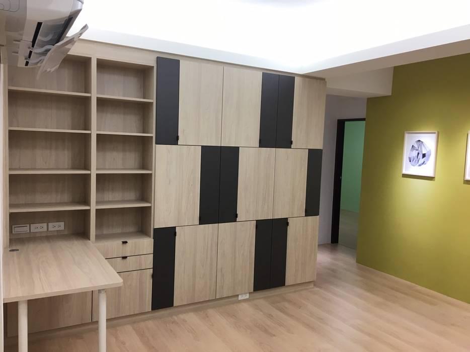 Study/office by 捷士空間設計(省錢裝潢),