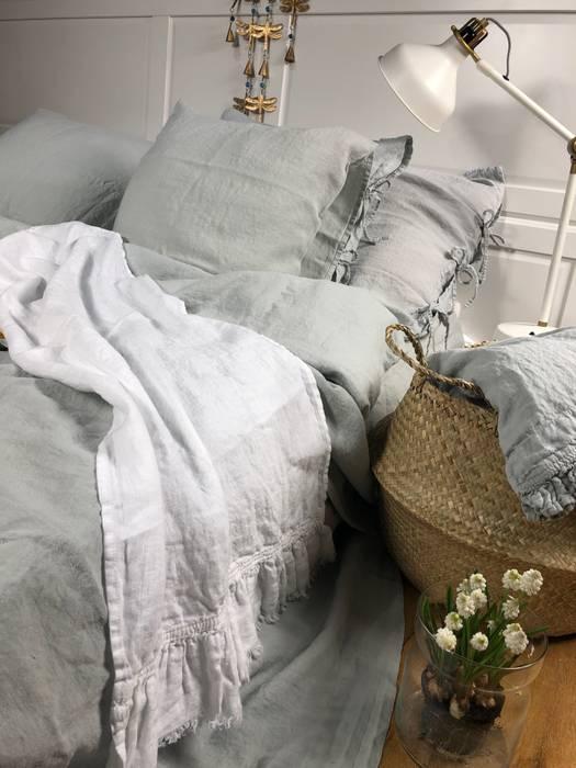 Lniana poszewka na poduszkę Pearl Grey od NatureBed