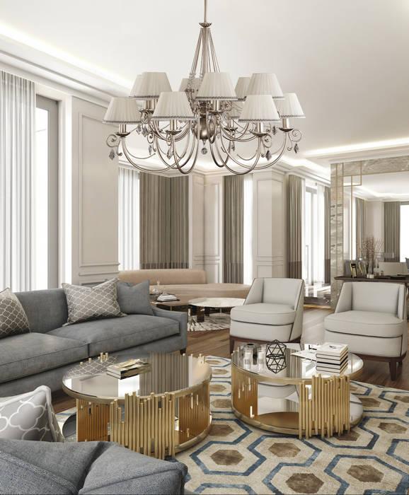oleh Luxury Chandelier, Klasik Perunggu