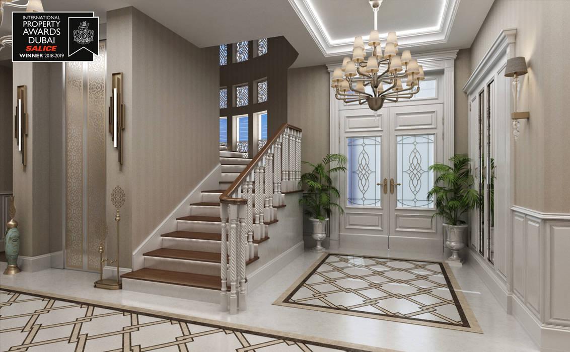 Sia Moore Archıtecture Interıor Desıgn – Ana Villa Giriş / Sitak Villa :  tarz Koridor ve Hol