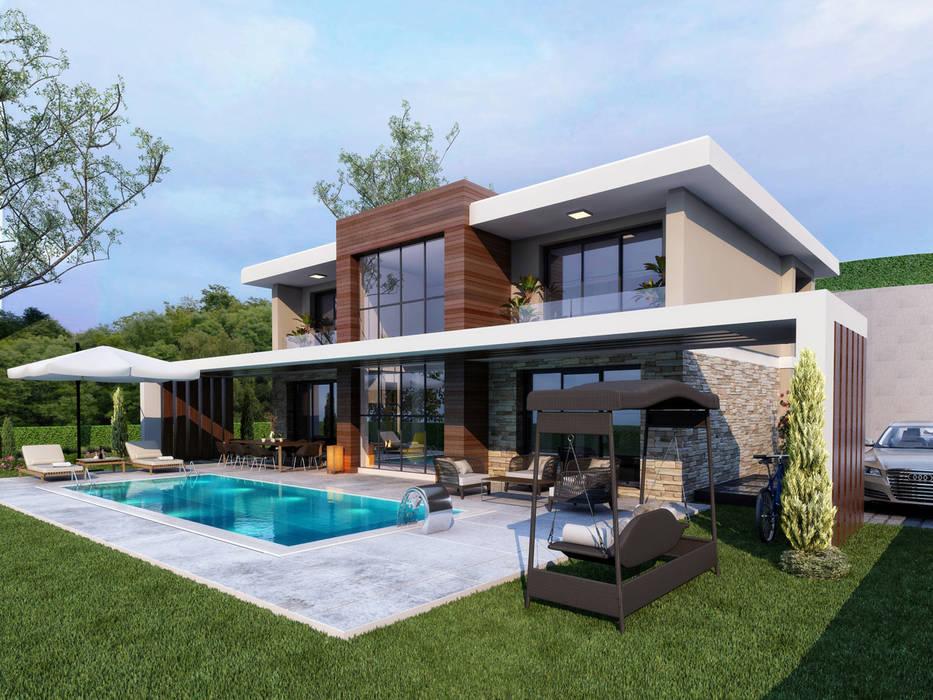Sia Moore Archıtecture Interıor Desıgn – Dış Cephe - 1 / Hayat Villaları :  tarz Villa,