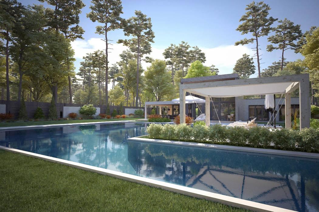 Pool / Kaş Villa by Sia Moore Archıtecture Interıor Desıgn Сучасний Керамічні