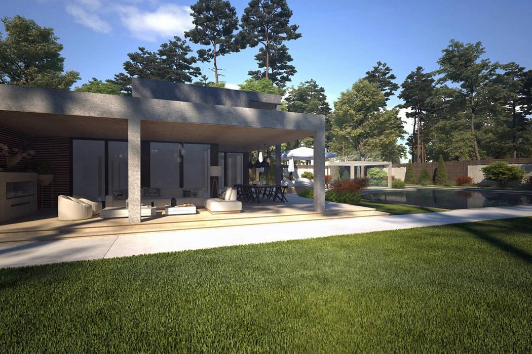 Yeşil Alan / Kaş Villa Sia Moore Archıtecture Interıor Desıgn Modern Tuğla