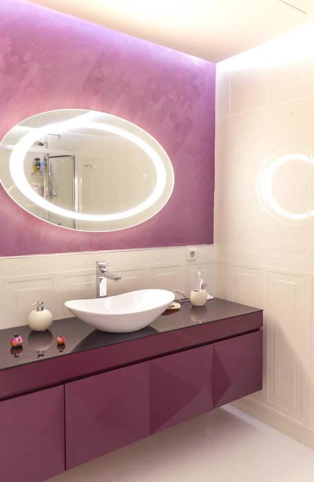 Beta İç Mimarlık – OBN Evi:  tarz Banyo, Modern