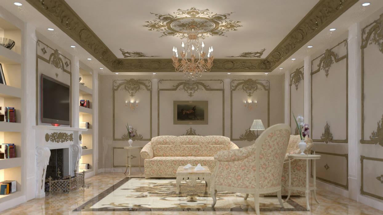 Klassische Wohnzimmer von lifestyle_interiordesign Klassisch