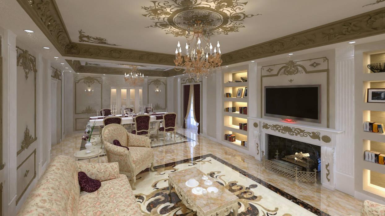 Klasik Oturma Odası lifestyle_interiordesign Klasik