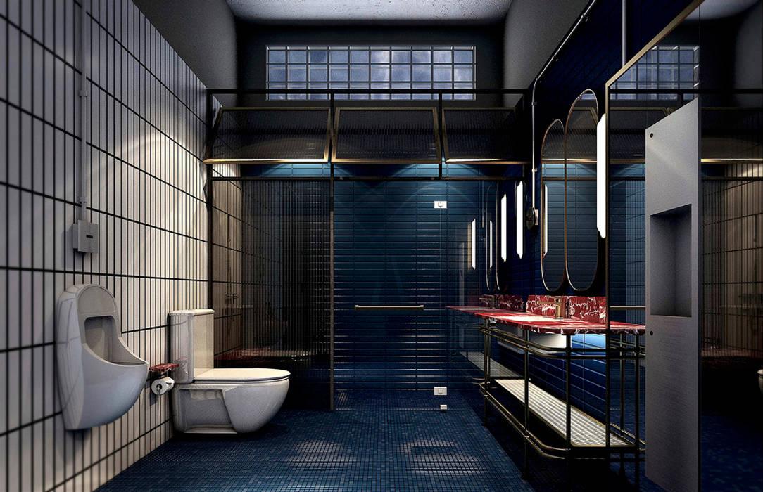 P911:  ห้องน้ำ โดย Metaphor Design Studio,