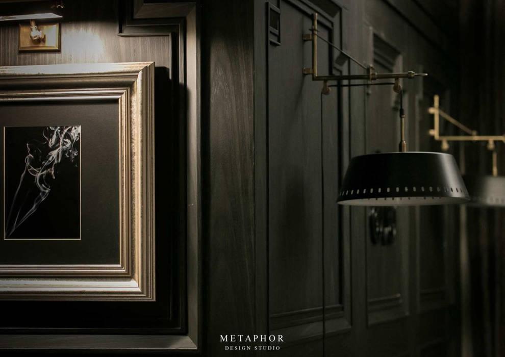 Dinding & Lantai Gaya Klasik Oleh Metaphor Design Studio Klasik Kayu Wood effect