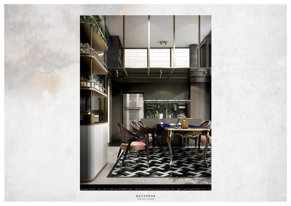 :  ห้องทานข้าว โดย Metaphor Design Studio, คลาสสิค