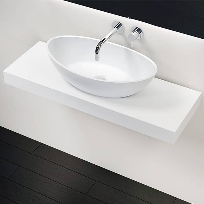 Badezimmer Konsole BK-01-L Badeloft GmbH - Hersteller von Badewannen und Waschbecken in Berlin BadezimmerAufbewahrungen Weiß