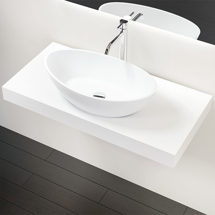 Badezimmer Konsole BK-02-L:  Badezimmer von Badeloft GmbH - Hersteller von Badewannen und Waschbecken in Berlin