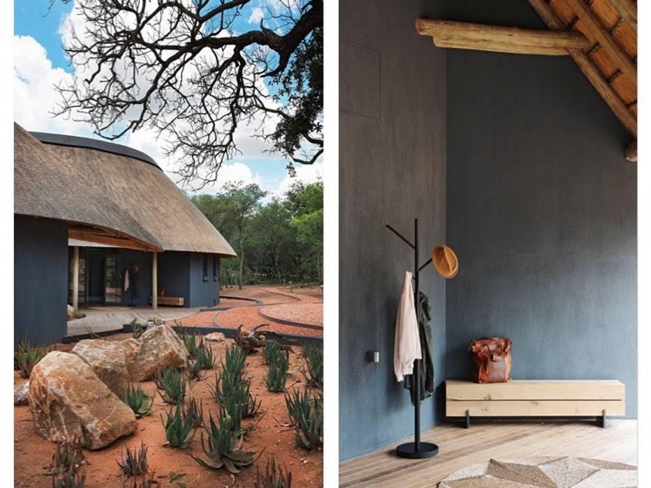 Main Entrance & Garden by Metaphor Design Rustic Concrete