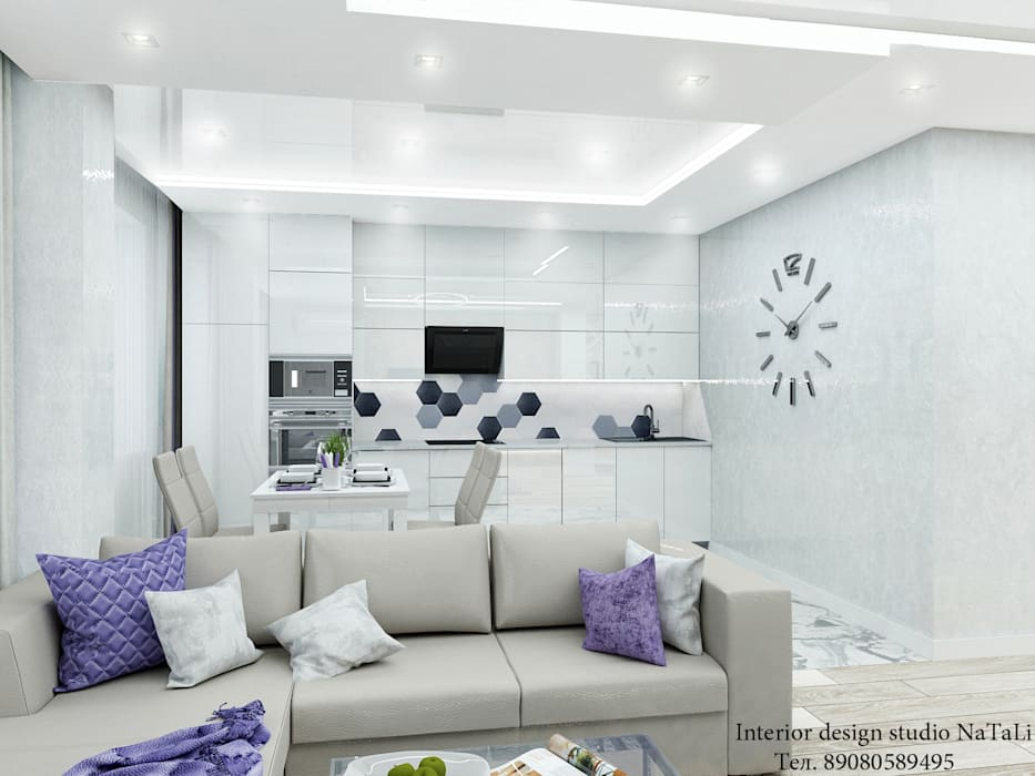 Living room by Студия дизайна Натали, Modern
