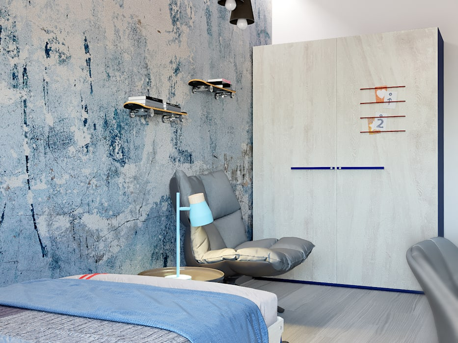 Boys Bedroom by Студия интерьеров EGOIST,