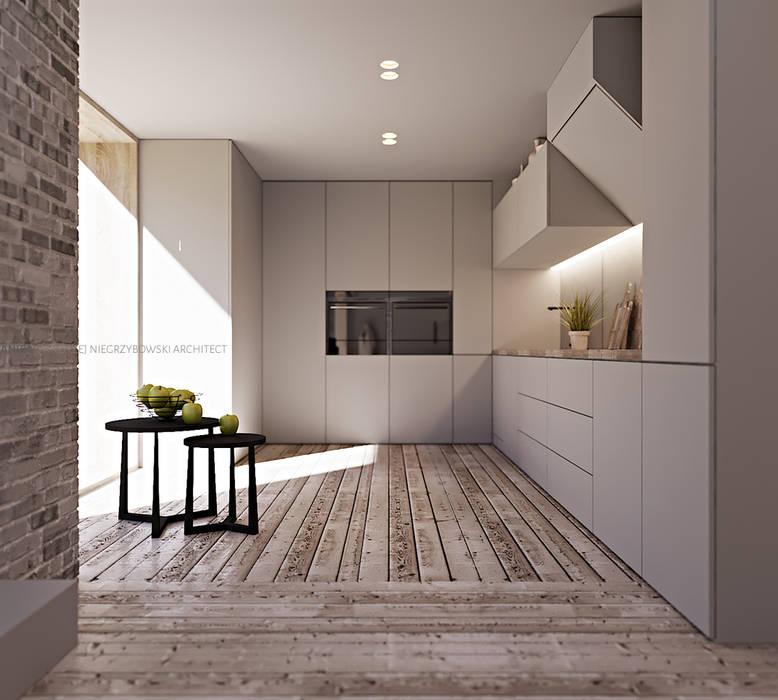 Dom kujawski: styl , w kategorii  zaprojektowany przez ANIEA Andrzej Niegrzybowski architekt