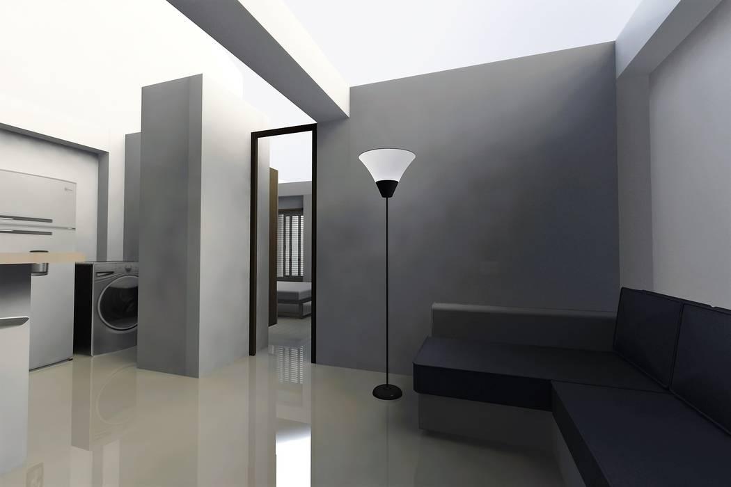 Modern living room by MARROOM | Diseño Interior - Diseño Industrial Modern