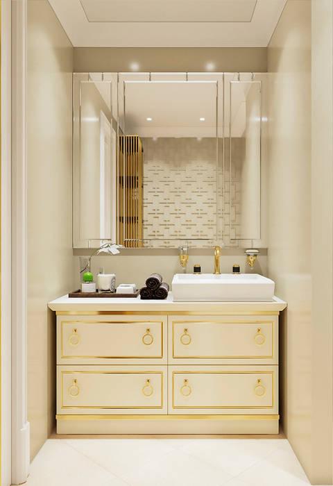 Ванная комната.: Ванные комнаты в . Автор – COD Design,