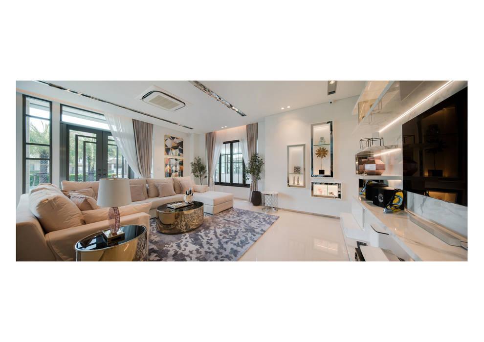 NS house / พระราม2 โดย Thaan Studio โมเดิร์น