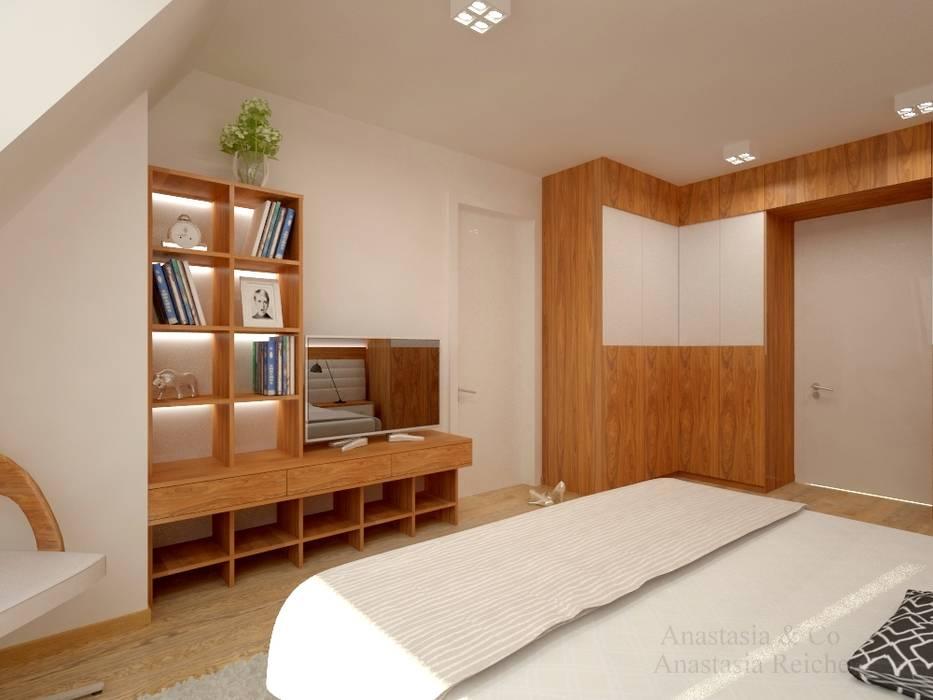 Schlafzimmer aus holz moderne schlafzimmer von anastasia ...