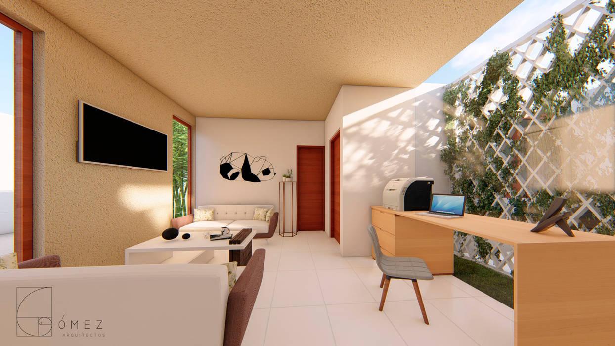 GóMEZ arquitectos Modern living room