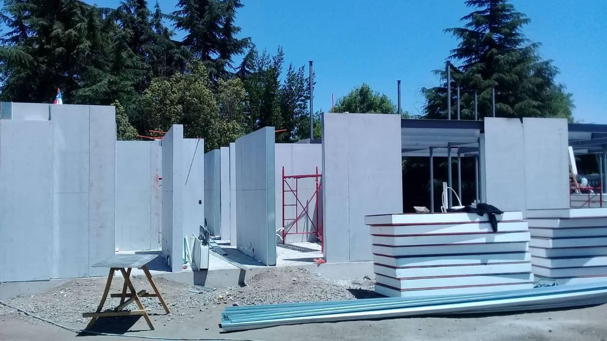 Contruccion panel titan Constructora CYB Spa Casas unifamiliares