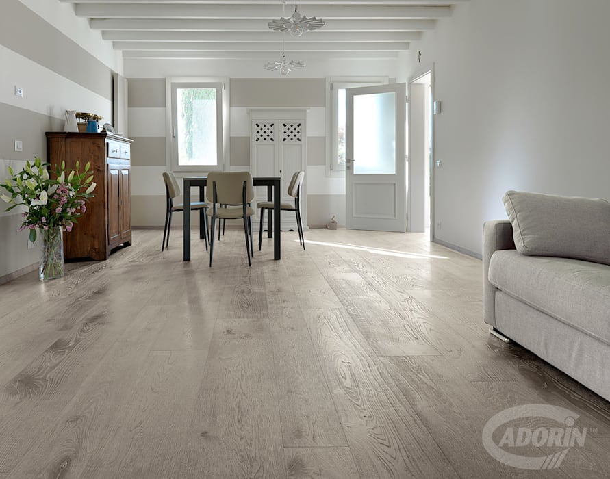 Parquet Quercia effetto calce di Cadorin Group Srl - Italian craftsmanship Wood flooring and Coverings Rurale