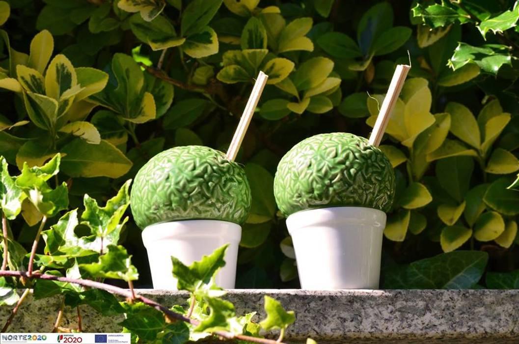 CRIVART Garden Accessories & decoration Porcelain Green