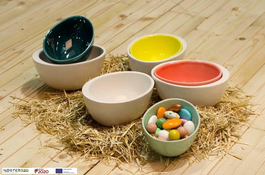 Peças decorativas utilitárias - Taças duplas: Arte  por CRIVART - Genuine Soul, LDA
