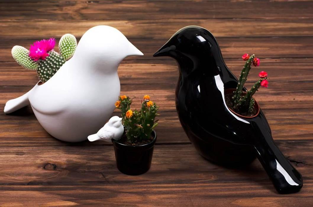 Peças decorativas - pássaros em porcelana : Casa  por CRIVART - Genuine Soul, LDA