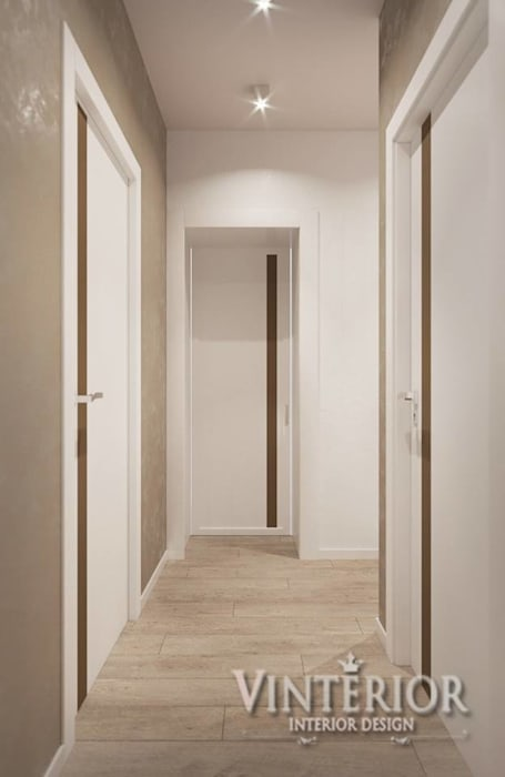 2х-уровневая квартира, ЖК «Львовский Маеток», Софиевская Борщаговка от Vinterior - дизайн интерьера Модерн