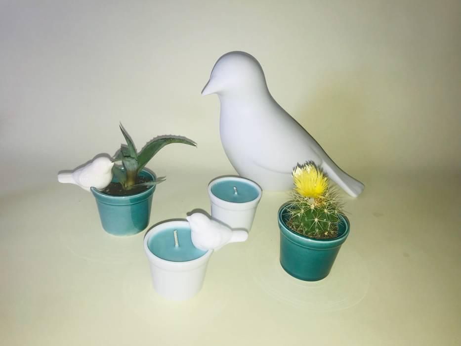 CRIVART Living roomAccessories & decoration Porcelain White