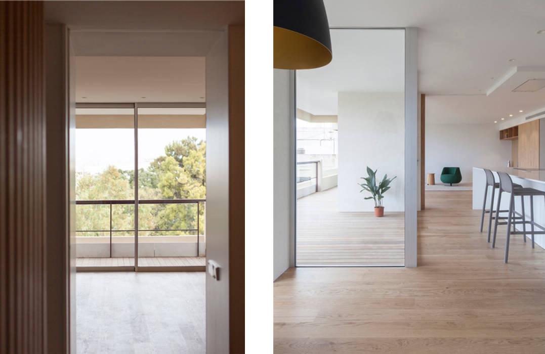 casa Botánico | Valencia, Spain: Balcón de estilo  de estudio calma, Minimalista