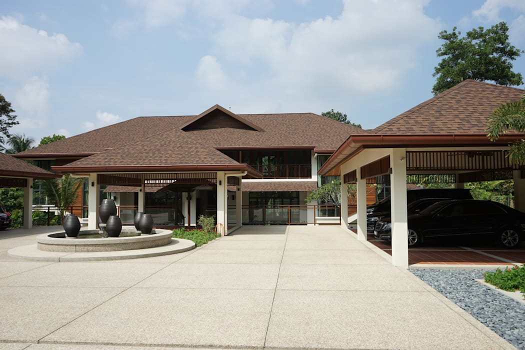 by Mode Architects Sdn Bhd Tropical