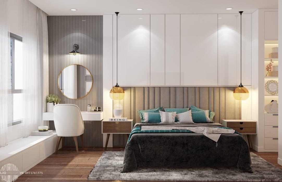 Nội thất phòng ngủ Phòng ngủ phong cách hiện đại bởi Lio Decor Hiện đại