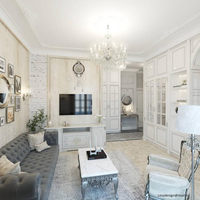 Квартира на Садовой, г. Москва: Гостиная в . Автор – lesadesign