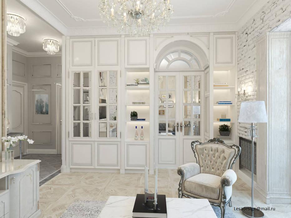 Klassische Wohnzimmer von lesadesign Klassisch Holz Holznachbildung