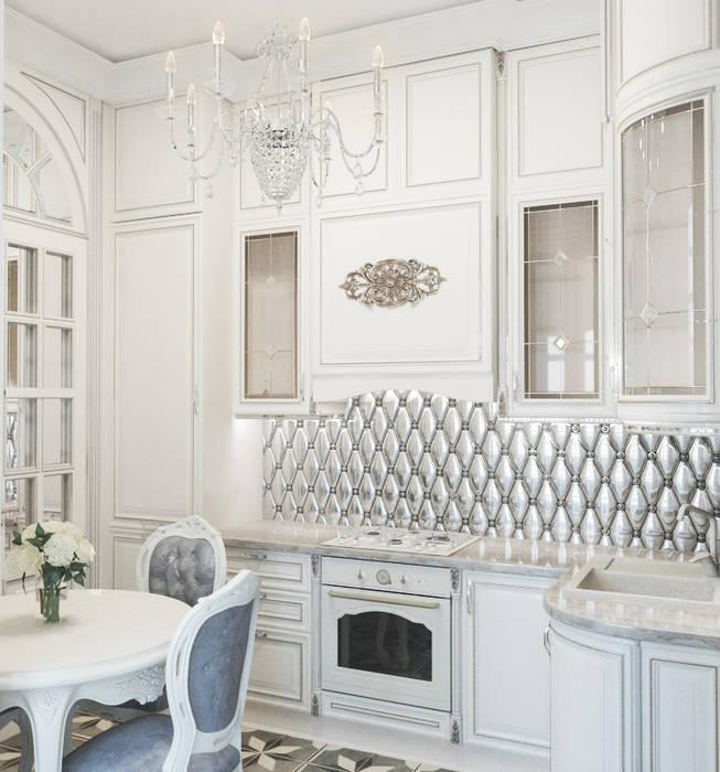Petites cuisines de style  par lesadesign, Classique Céramique