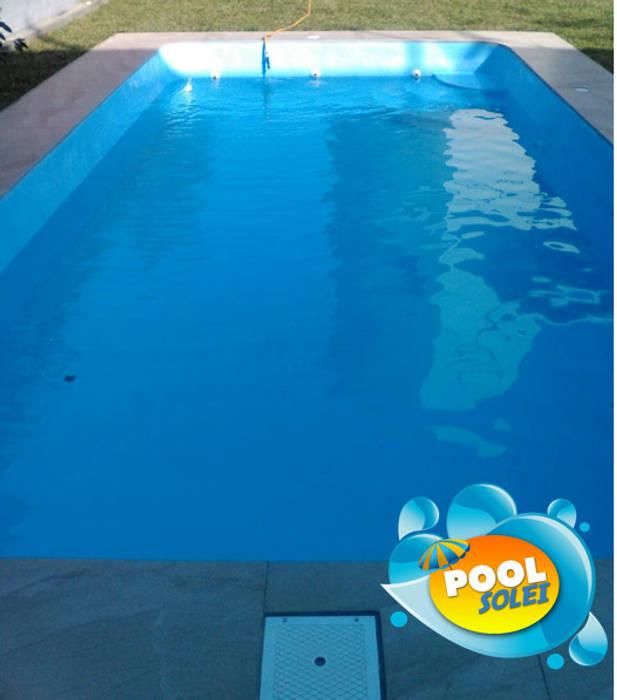 Piscina Solei: Piscinas de jardín de estilo  por Pool Solei,