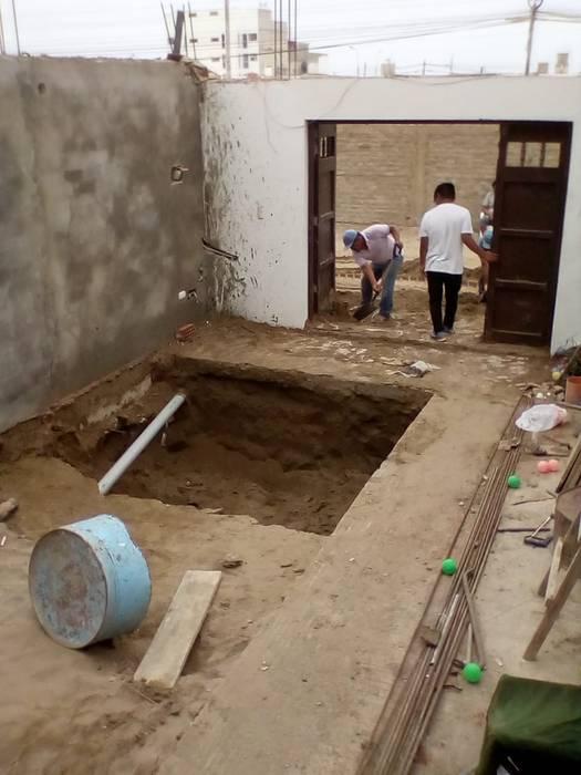 Excavacion: Piscinas de jardín de estilo  por Pool Solei,