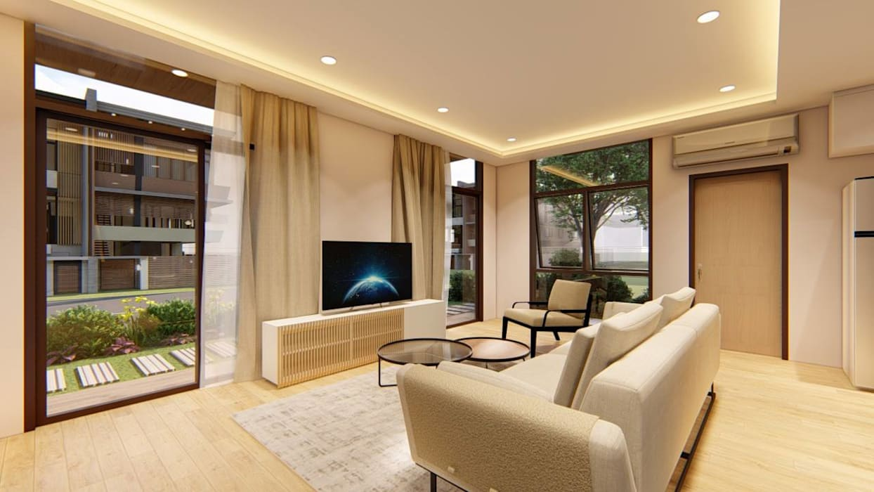 2-Storey Scandinavian-Inspired Residence by Structura Architects Scandinavian