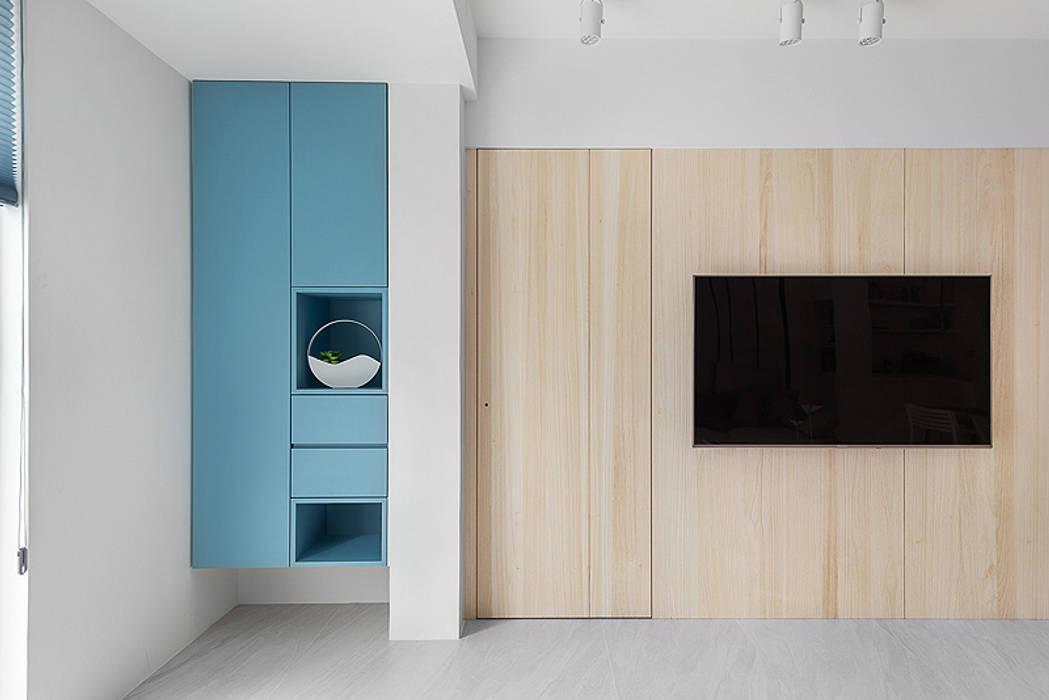 凝.聚 知域設計 客廳