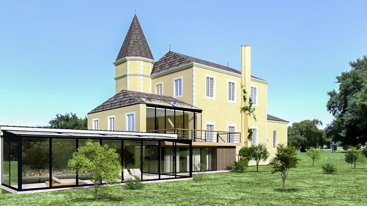 Klassischer balkon, veranda & terrasse von az deco klassisch ...
