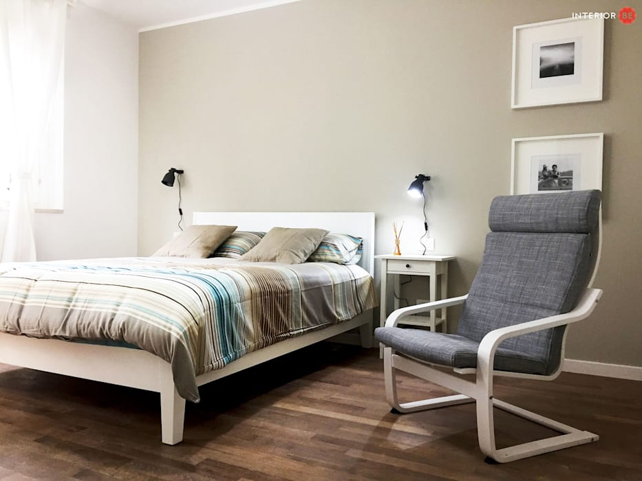 Ikea style camera da letto moderna di desearq studio _ ...