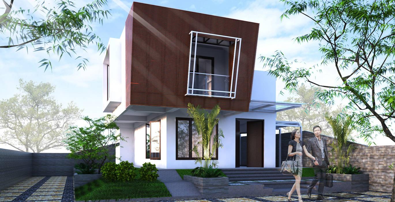 Desain rumah tinggal Rumah Modern Oleh ARK-chitect.studio Modern