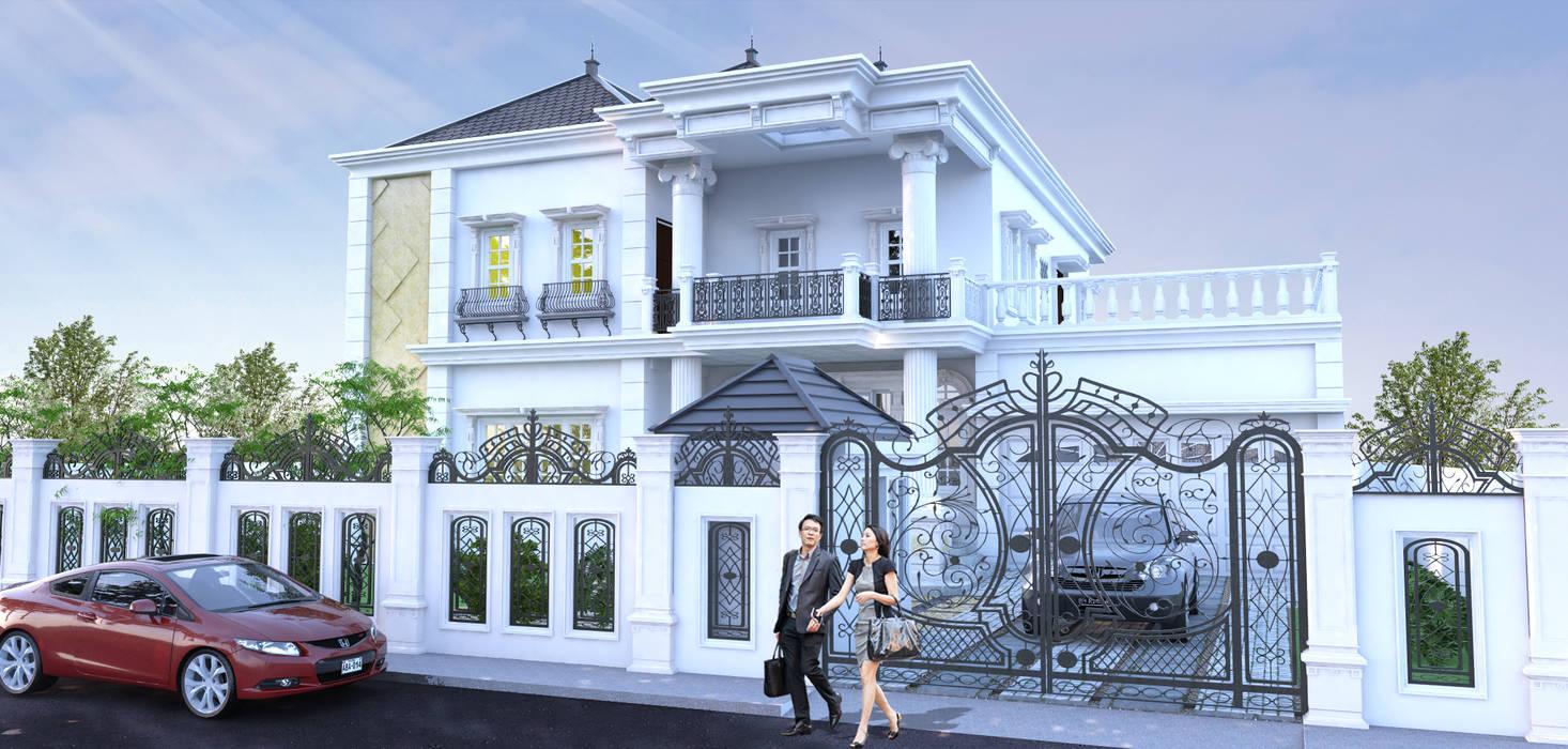 Desain rumah tinggal:  Rumah by ARK-chitect.studio