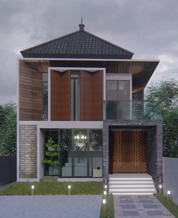 Desain rumah tinggal: Rumah oleh ARK-chitect.studio,