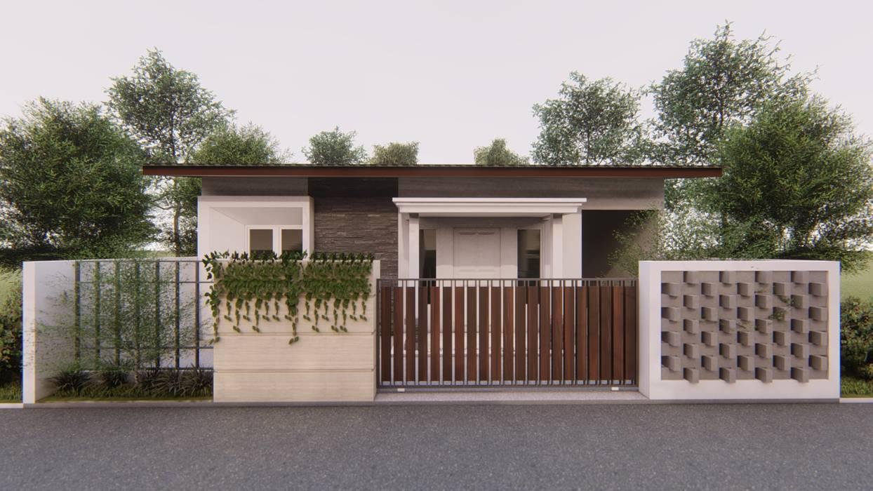 Desain rumah tinggal: Rumah oleh ARK-chitect.studio, Tropis