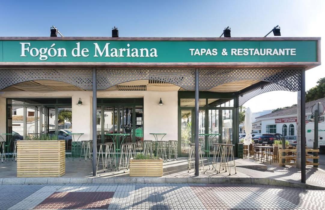 Fogón de Mariana, un proyecto de CM4 en Chiclana de la Frontera: Bares y Clubs de estilo  de MisterWils - Decoración Vintage,