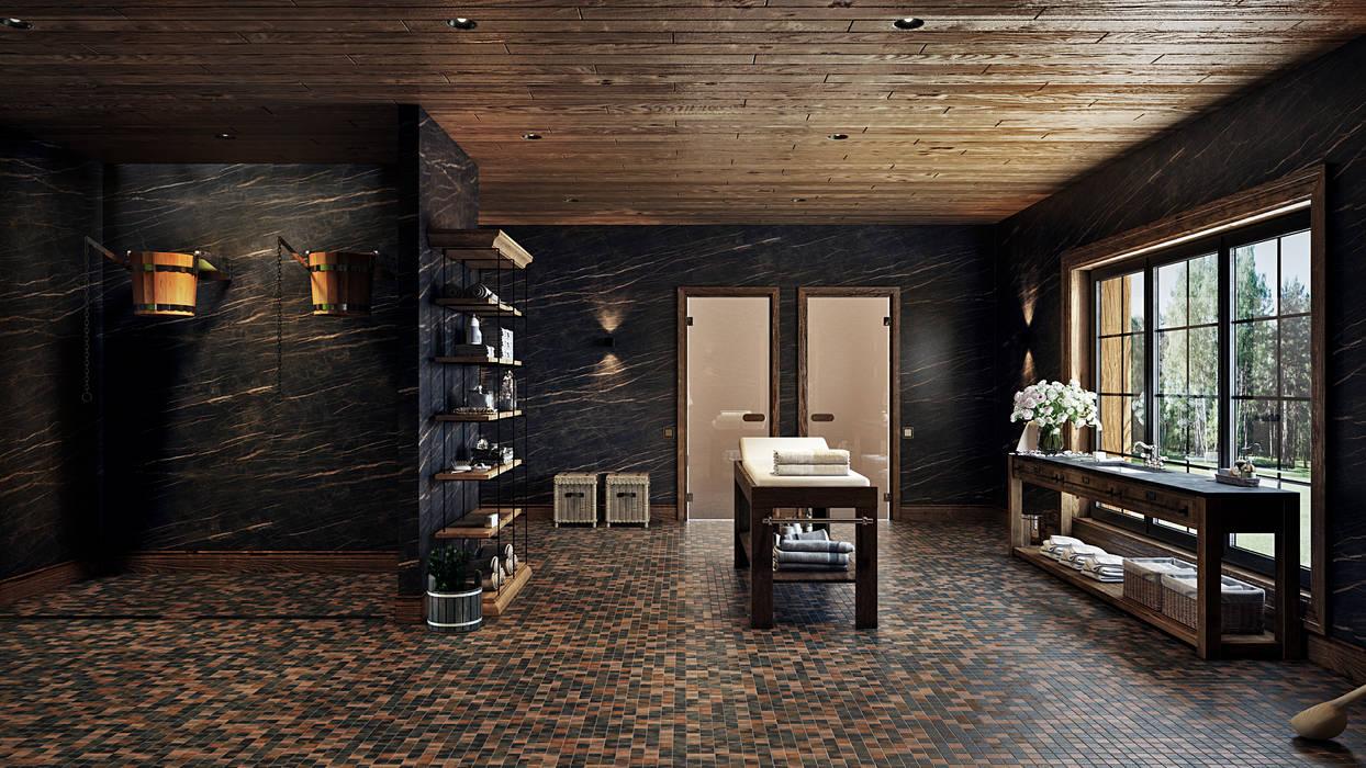 Spa by mlynchyk interiors
