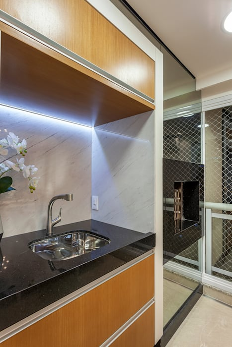 Apartamento Chanel por Designer de Interiores e Paisagista Iara Kílaris Moderno